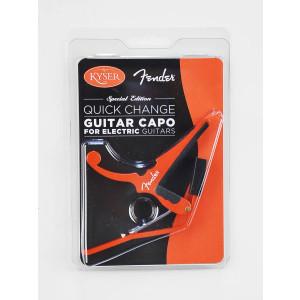 Fender Kyser capo rood