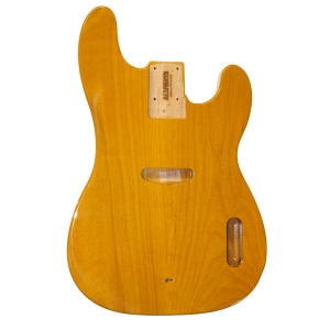 Licensed by Fender Telecaster Bass body Butterscotch