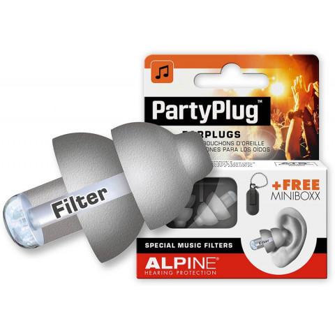 Alpine Partyplug oordoppen zilver