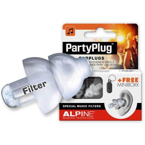 Alpine Partyplug oordoppen transparant