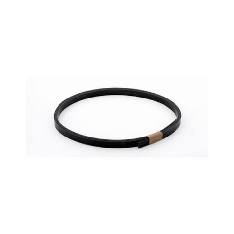 ABS binding 0,5mm x 8mm x 1,7mtr zwart