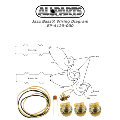 Pleasant Wiring Kit Guitar Guitar Parts Wiring 101 Capemaxxcnl