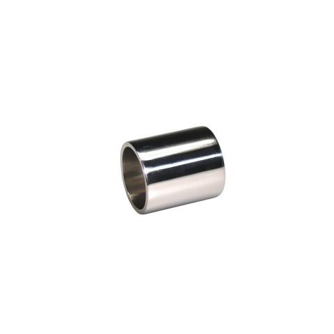 Bottleneck-metal slide 28 mm chroom