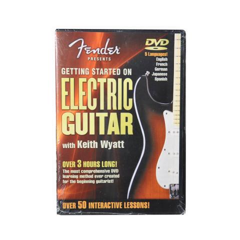 Fender DVD DVD - Get Started Electric Guitar