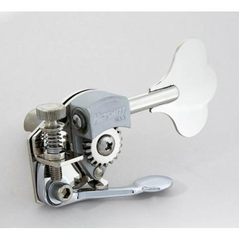 Hipshot HE6C Bass Extender past voor Hipshot ultra lite bas key met 12,7mm pen nikkel