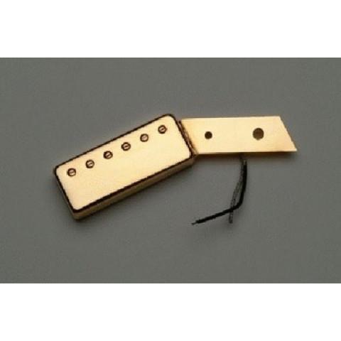 Jazz hals mini humbucker bevestiging aan de slagplaat goud 7.8K ohm