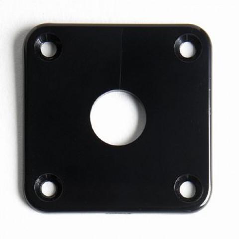 Kunststof jackplate voor Les Paul zwart