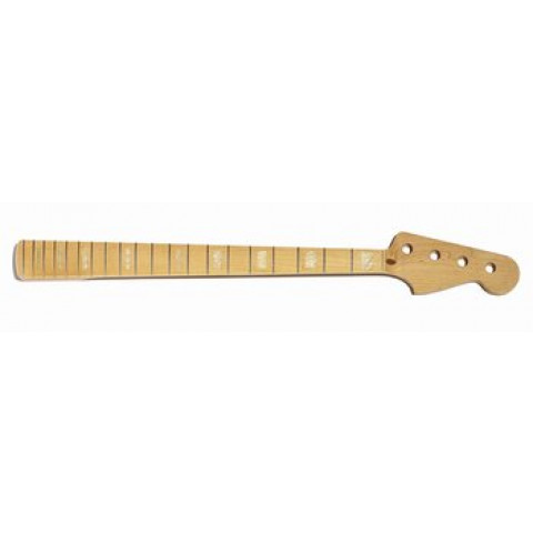 Licensed by Fender Finished Jazz Bass Neck with Binding