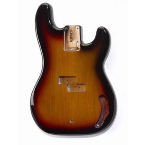 Licensed by Fender Precision Bass body 3-tone Sunburst
