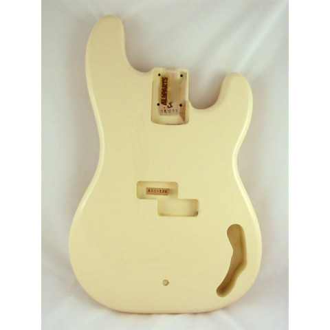 Licensed by Fender Precision Bass body Olympic White