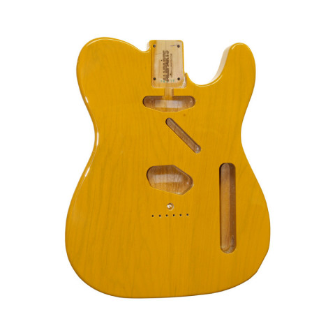 Licensed by Fender Telecaster body Butterscotch