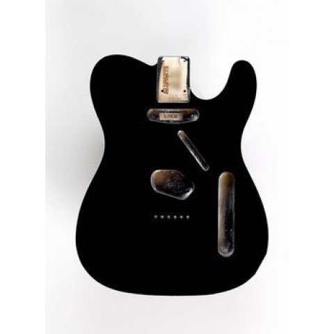 Licensed by Fender Telecaster body zwart