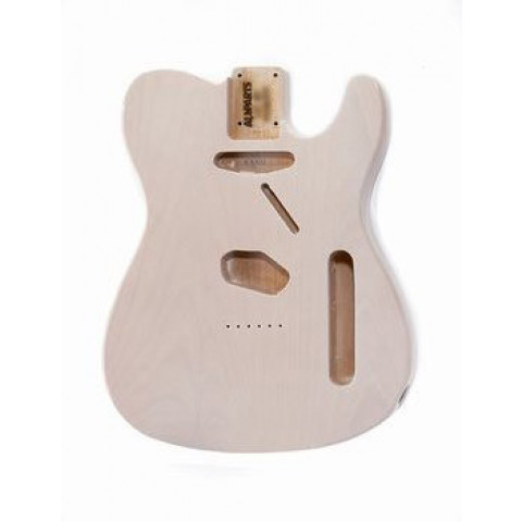 Licensed by Fender Telecaster body tranparant gelakt