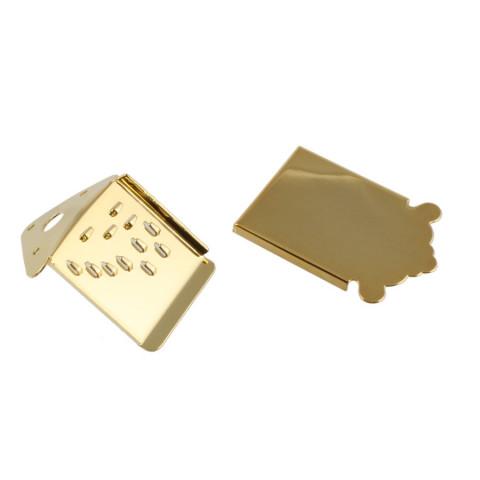 Mandoline tailpiece incl cover goud