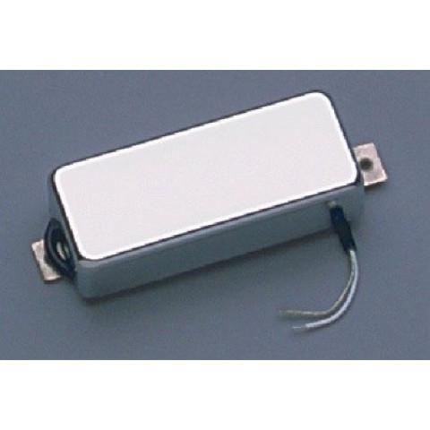 Mini humbucker zonder gaten met chromen cover 8.3K ohm