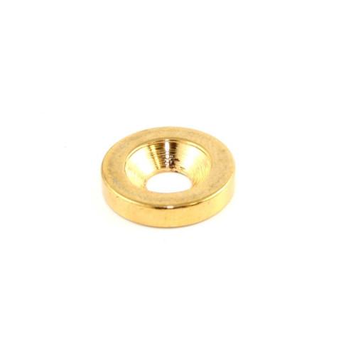 Neckplate bevestiging sockets goud