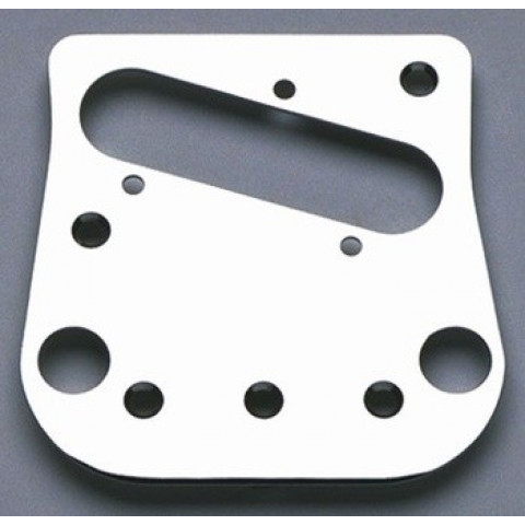 Pickup brugplaat voor met Bigsby modified Telecaster chroom