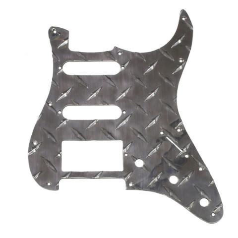 Slagplaat 1-laag traanplaat Stratocaster H-S-S chroom