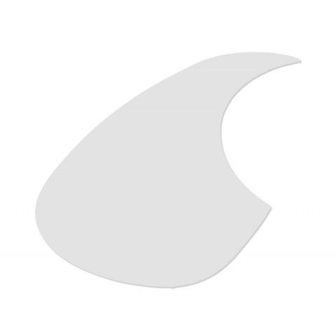 Teardrop slagplaat transparant links