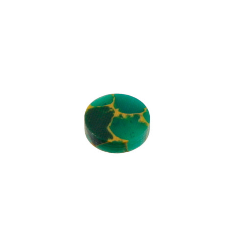Toets inlay stippen 6,4mm jade stone