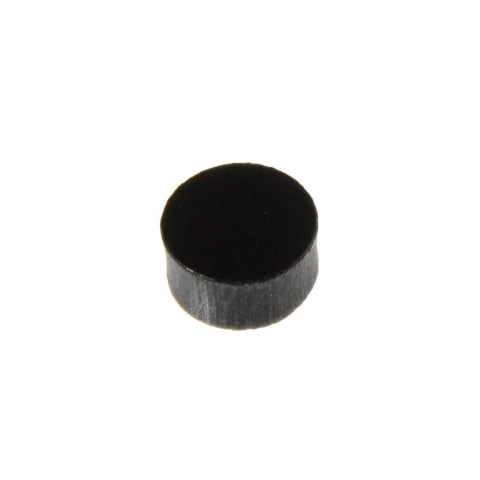Toets inlay stippen 6mm zwart
