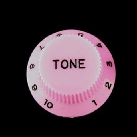 Tone knop voor Stratocaster roze