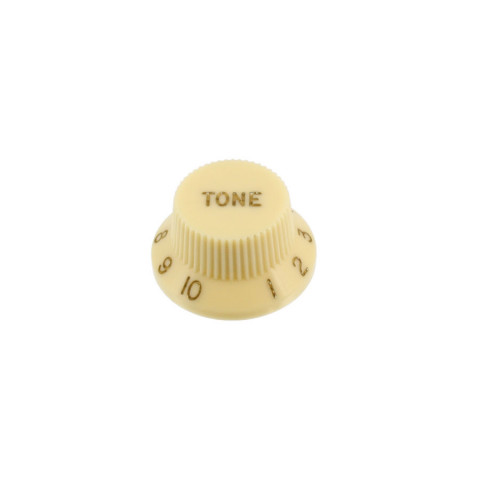 Tone knop voor Stratocaster vintage créme