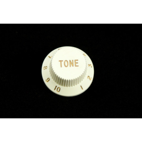 Tone knop voor Stratocaster wit
