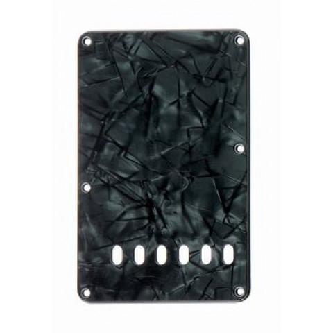 Tremolo afdekplaat 4-laags donker zwart parelmoer