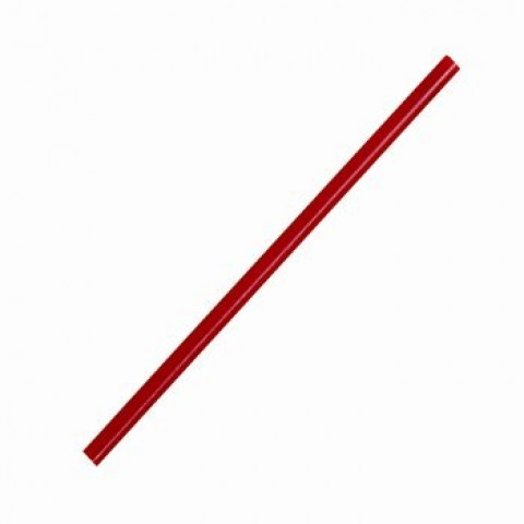 Zij stip staafjes 50 x 2mm rood